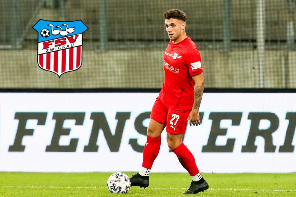 FSV Zwickau verlängert Vertrag mit Mittelfeldspieler Möker