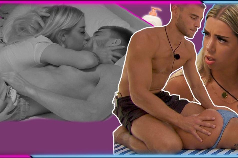 Softporno in Kuppelshow: Aaron will Walentina den Mund stopfen