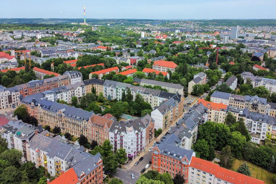 Der Kaßberg zählt zu den vergleichsweise teuren Stadtteilen von Chemnitz.