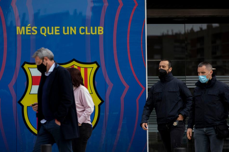 Polizei durchsucht Büroräume des FC Barcelona