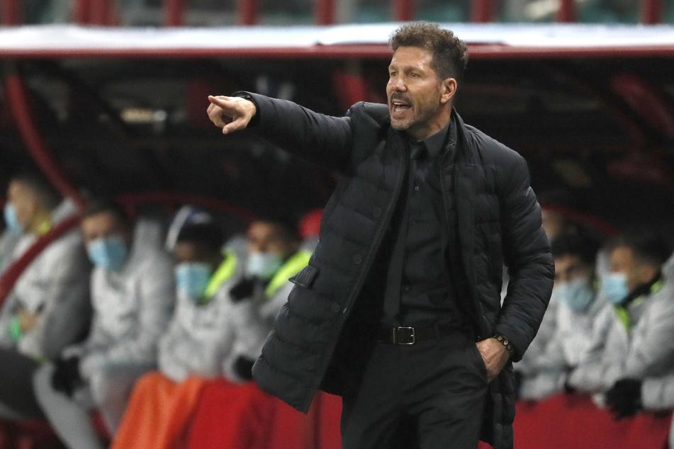 Diego Simeone (51) wurde in der abgelaufenen LaLiga-Saison Meister. Holt er nun Roman Bürki in die spanische Hauptstadt?