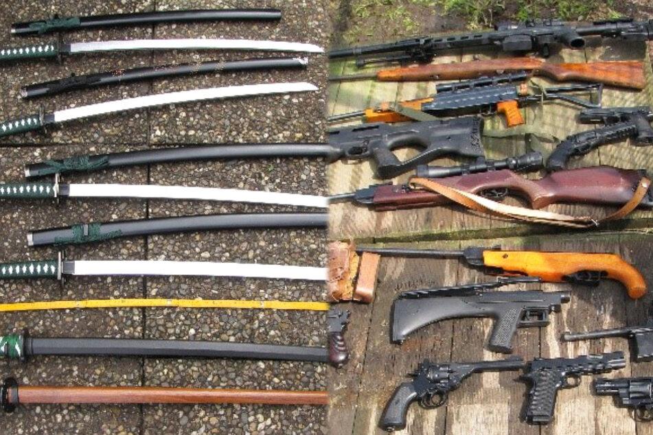 Frankfurt: Anschlag in deutscher Großstadt geplant? Polizei findet zahlreiche Waffen