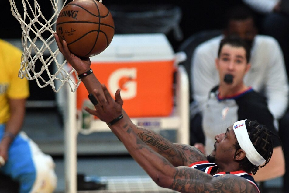 Bradley Beal scored 37 points in the Wizards' win over the Pistons on Saturday