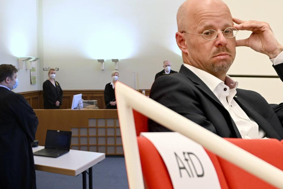 AfD-Mann Andreas Kalbitz muss erneut Schlappe vor Gericht einstecken