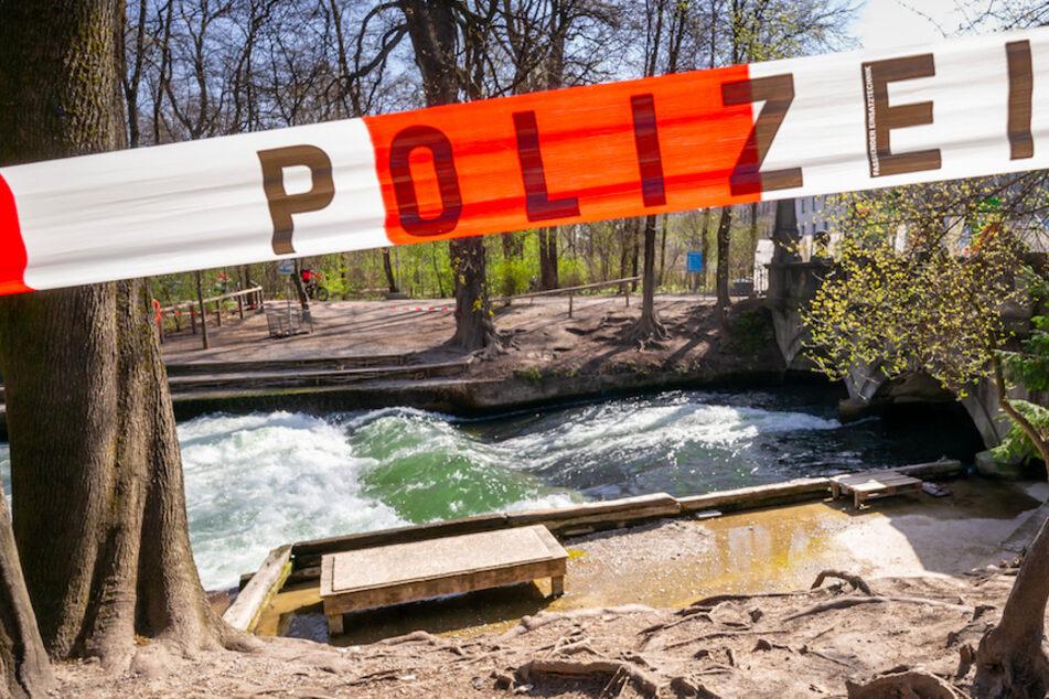 München: Toter aus Eisbach in München geborgen