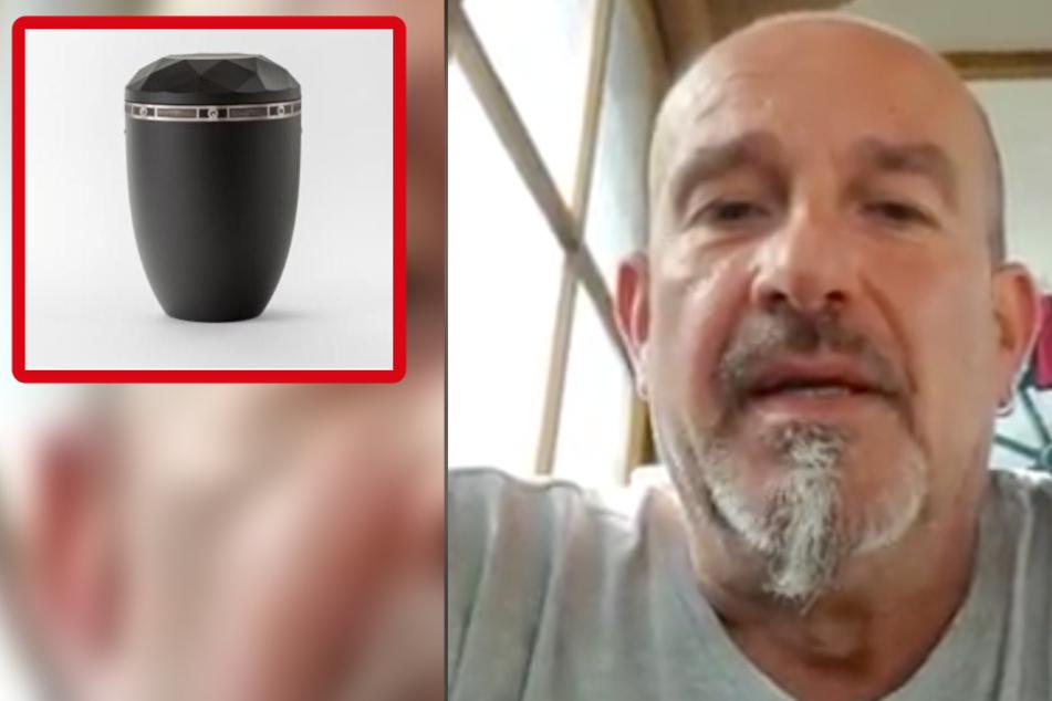 Schock! Urne bei Beerdigung geklaut - Sohn des Toten mit emotionaler Botschaft