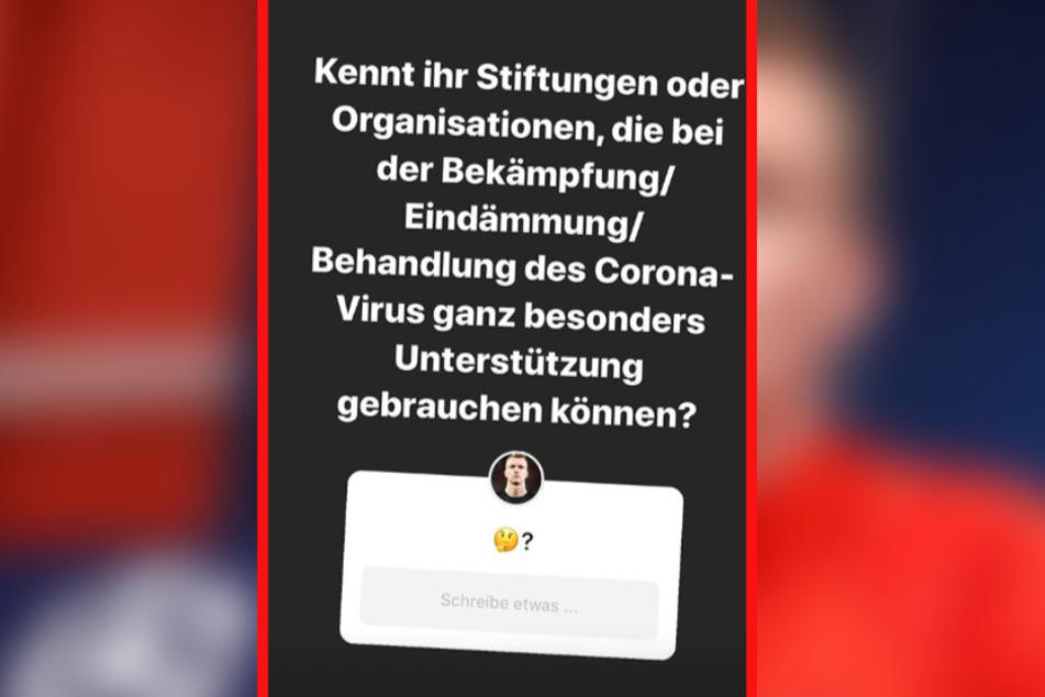 Diesen Post setzte Klostermann auf Instagram ab.