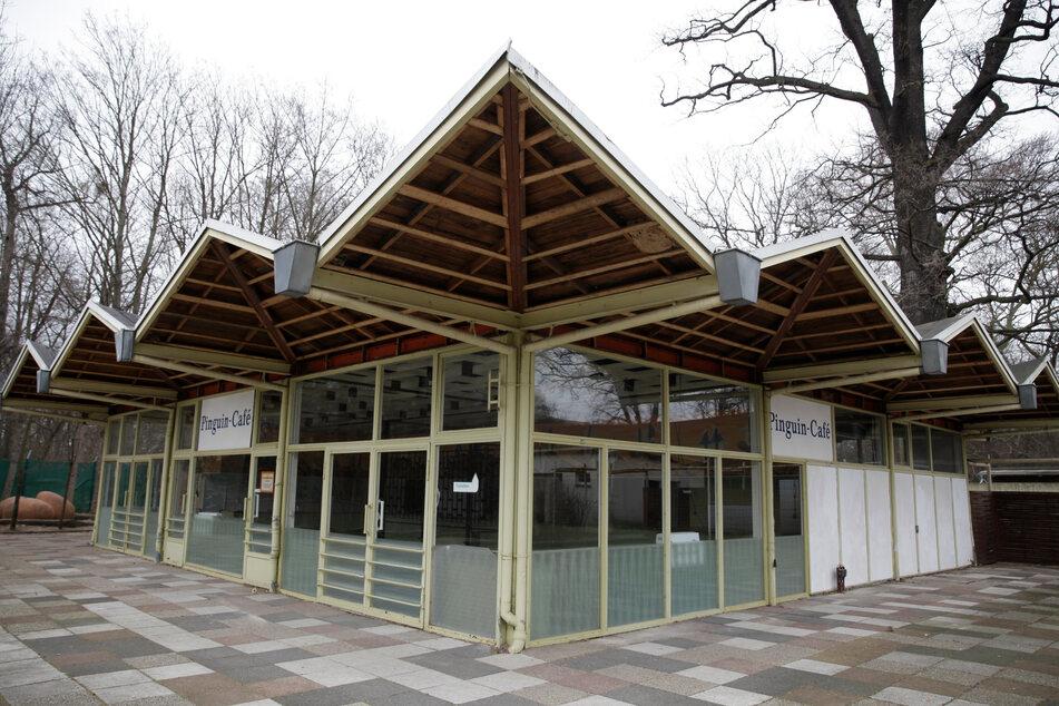 Das alte Pinguincafé liegt derzeit zerlegt im Lapidarium. Ab 2024 soll es im Südpark stehen.