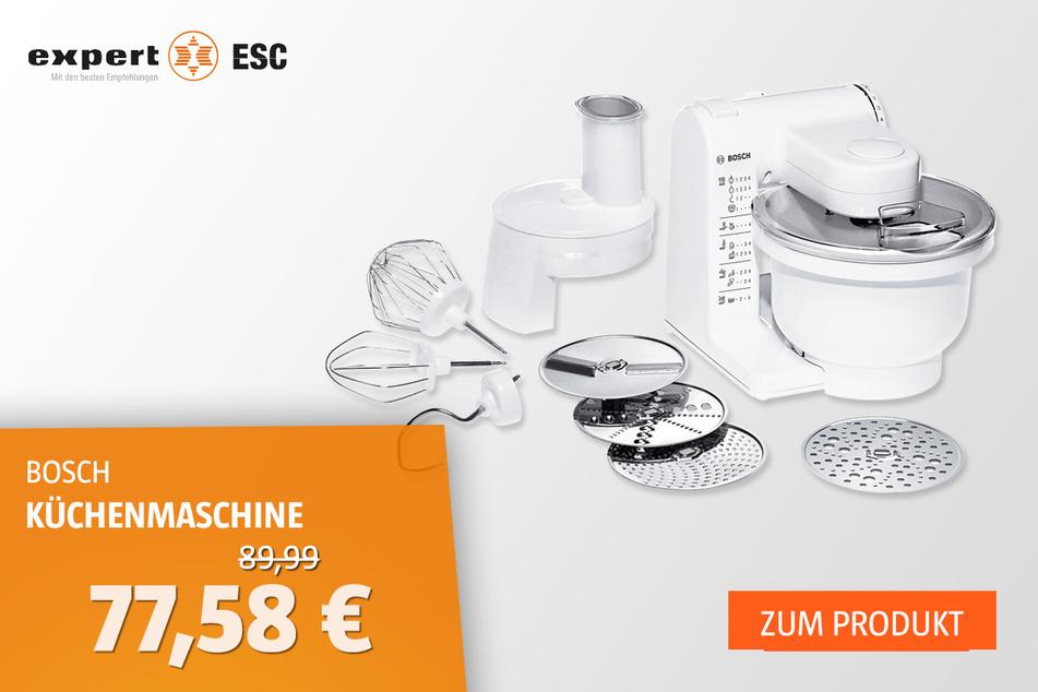 BOSCH MUM4427 Küchenmaschine für 77,58 statt 89,99 Euro