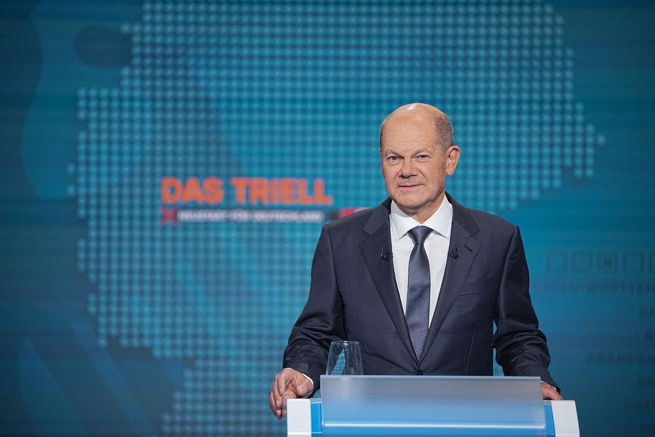 Olaf Scholz von der SPD war sich mit seinen Mitstreitern einig: Es soll keinen neuen Lockdown geben.