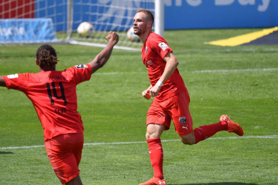 Der FC Ingolstadt jubelt verdient bei den Löwen.