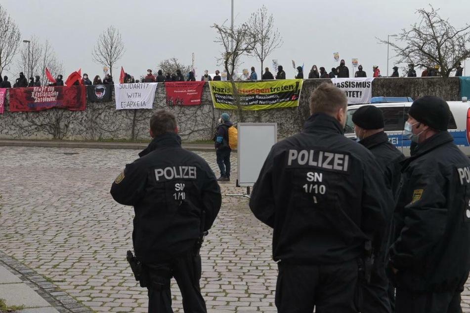 An diesem Wochenende kommt es anlässlich des AfD-Bundesparteitags zu einem großen Polizeieinsatz in Dresden.