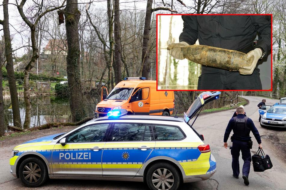 Chemnitz: Granatenfund in Rabenstein: Kampfmittelbeseitigung in Chemnitz