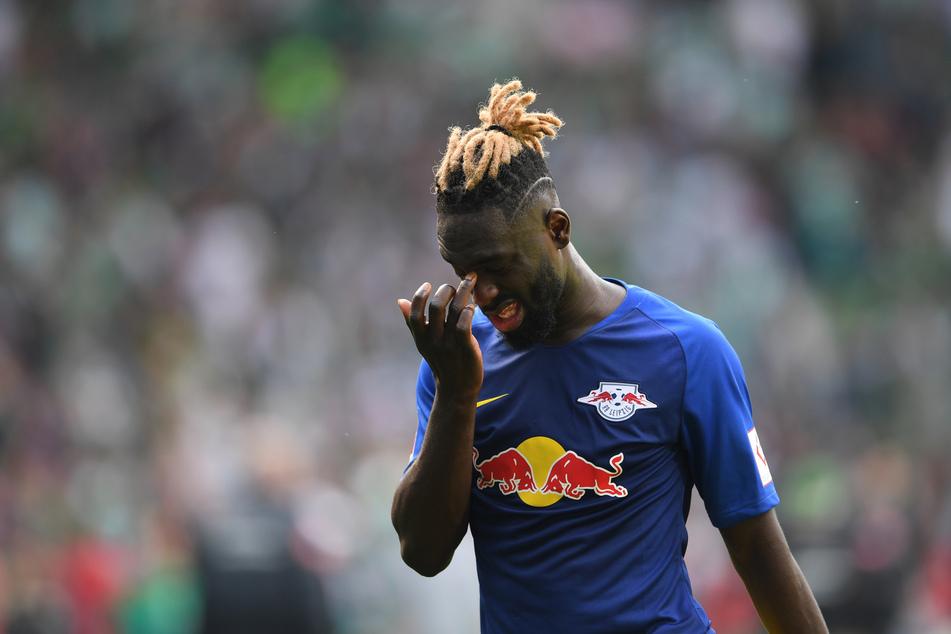 Für Leipzig war Augustin (23) eigentlich ganz gut unterwegs: In 42 Spielen traf er immerhin 20 Mal.