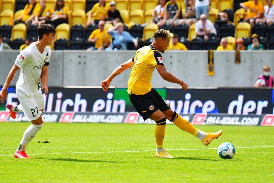 Heinz Mörschel (r.) traf zum 3:0-Endstand für Dynamo und überzeugte auch davon abgesehen.
