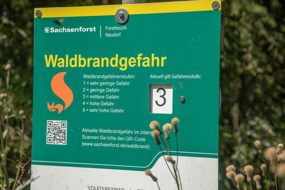 In Teilen vom Erzgebirge gilt von Warnstufe 3.