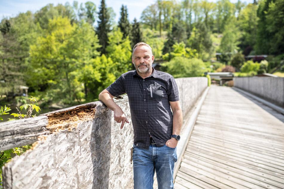 Augustusburgs Bürgermeister Dirk Neubauer tritt seine zweite Amtszeit als Oberbürgermeister an. Er setzte sich gegen vier Mitbewerber durch.