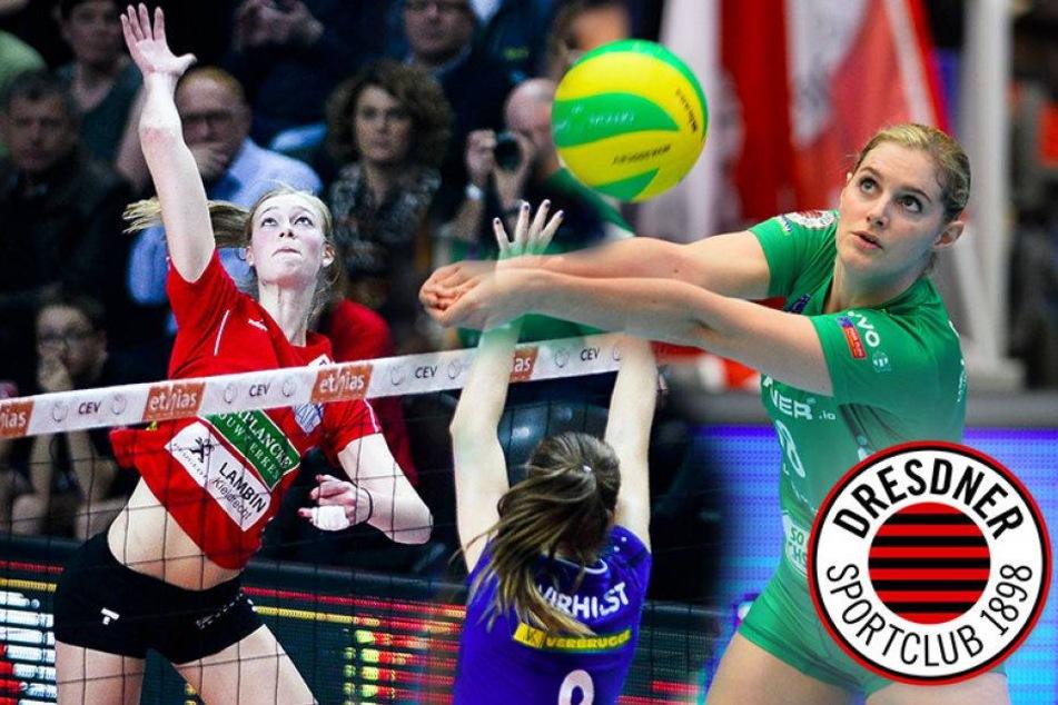 Belgien-Power! DSC holt Valérie zurück und Dominika kommt