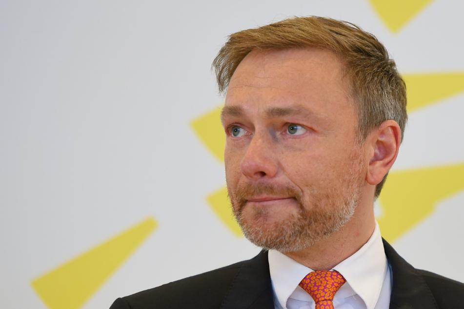 FDP-Chef Christian Lindner (41).
