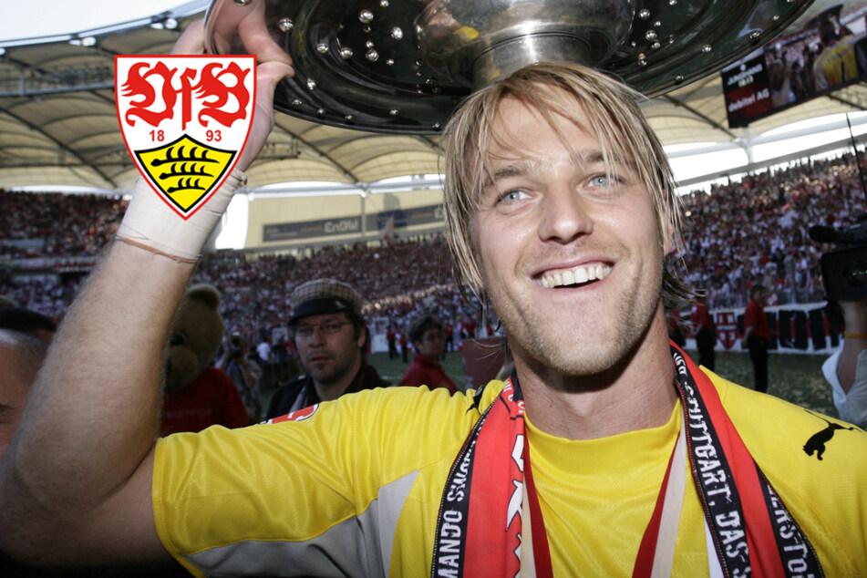 """VfB-Marke wackelt, doch Legenden erinnern: """"Es gibt Wichtigeres im Leben als Rekorde!"""""""