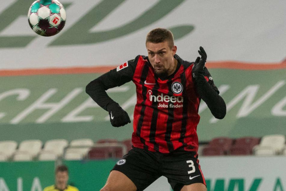 Stefan Ilsanker dürfte den gelbgesperrten Sebastian Rode im Spiel am Samstag gegen Bayer Leverkusen ersetzen.