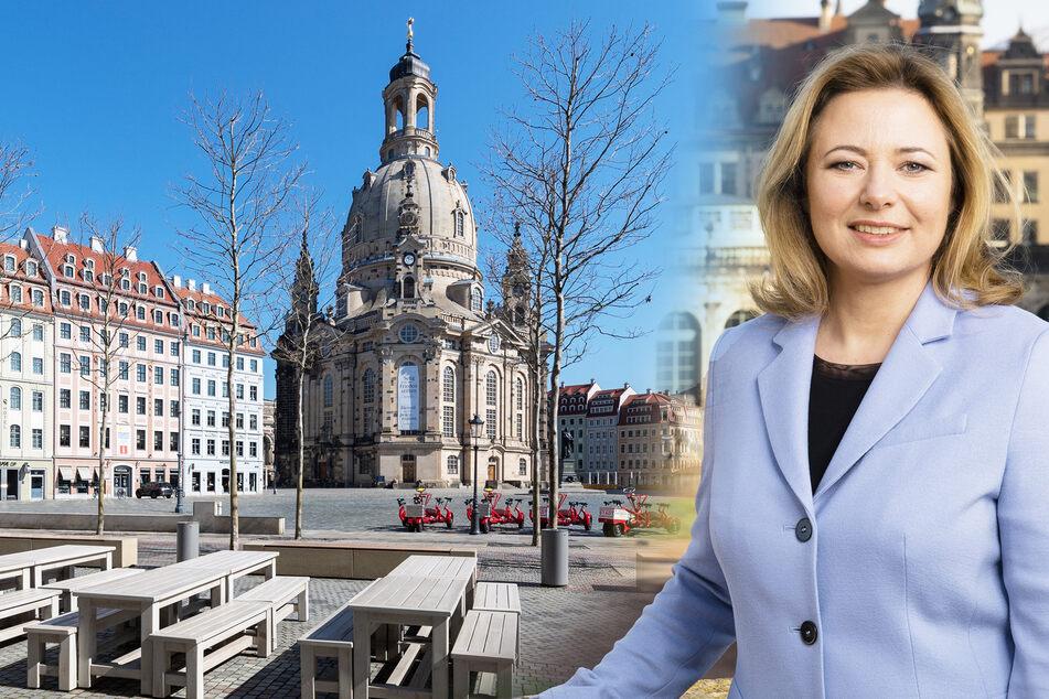 So will die neue Tourismus-Chefin Dresden aus der Corona-Krise führen