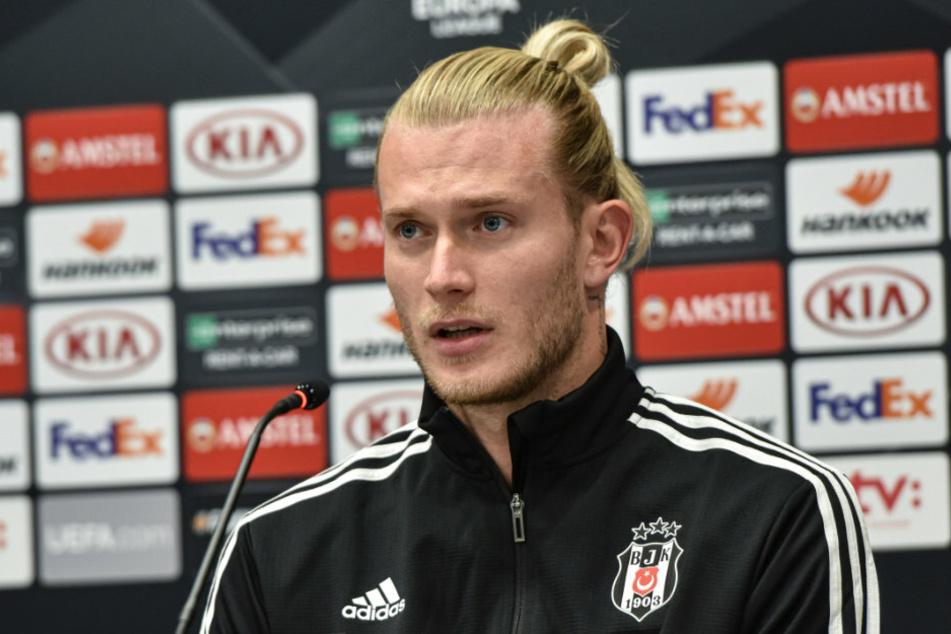 Loris Karius (27) bei einer Pressekonferenz für seinen Ex-Klub Besiktas Istanbul. Feiert der neue Torhüter der Eisernen sein Debüt ausgerechnet gegen seinen ehemaligen Verein 1. FSV Mainz 05?