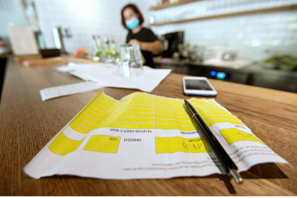 Coronavirus: Falschangaben in Restaurants kosten künftig 50 Euro Bußgeld