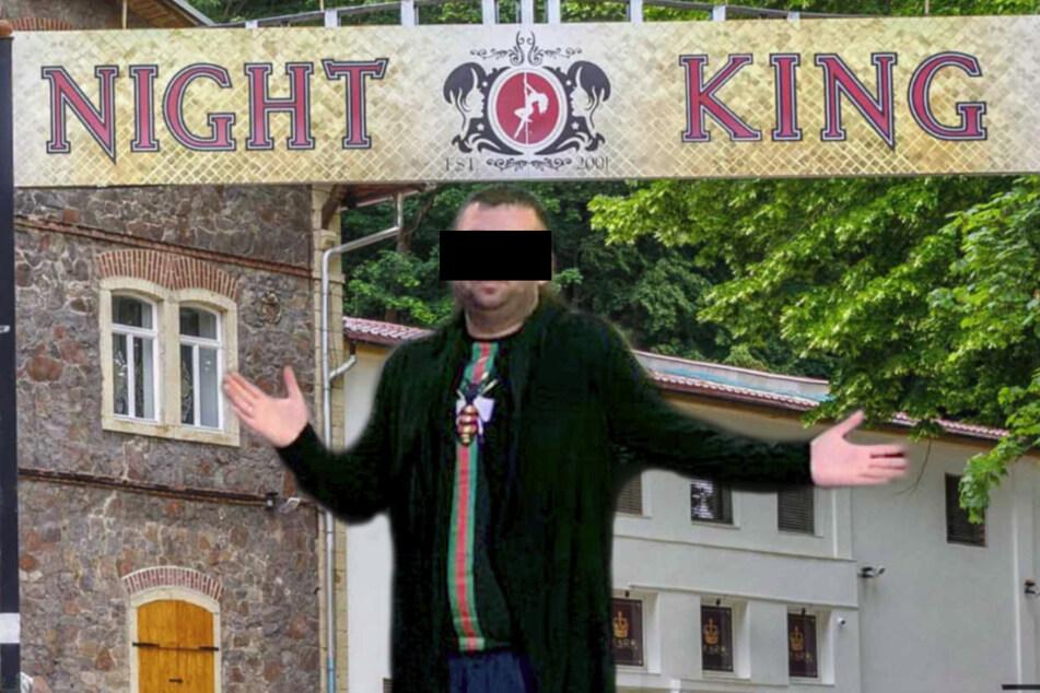 Vladimir L. (37) wollte gerade richtig im Dresdner Milieu durchstarten, jetzt sitzt er im Knast (Bildmontage).