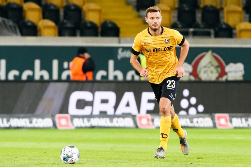 Florian Ballas (27) lief 106 Mal im Dynamo-Trikot auf, erzielte dabei fünf Tore und gab zwei Vorlagen.