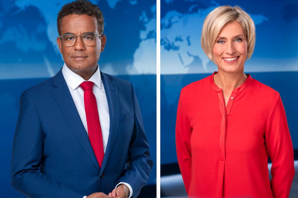 """Michail Paweletz (56) und Susanne Stichler (52) übernehmen die Nachmittagsausgaben der """"Tagesschau""""."""