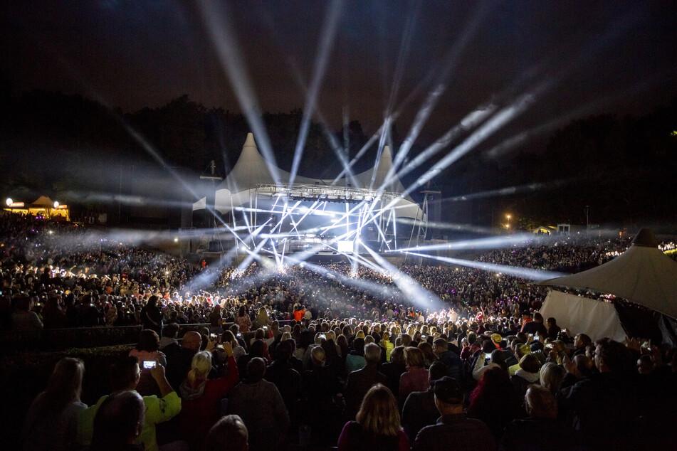 Die Waldbühne wird wieder für Konzerte geöffnet.