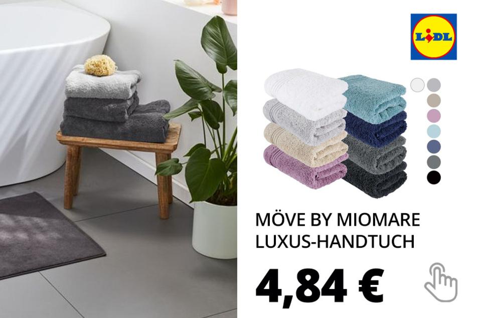 Möve by miomare Luxus-Handtuch, 50 x 100 cm