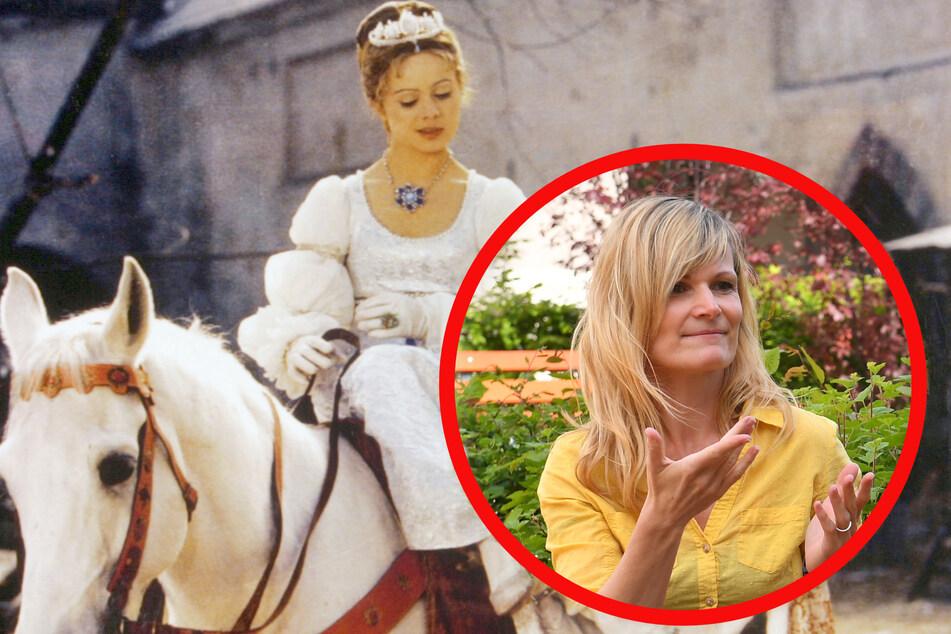 """Gebärdendolmetscherin Carla Vogel (41) hat für den MDR vier Filme übersetzt, unter anderem den Klassiker """"Aschenbrödel""""."""
