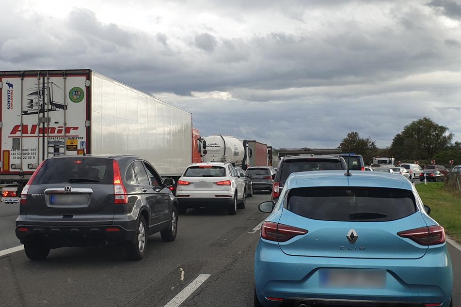 Unfall auf A5 bei Walldorf: Autobahn voll gesperrt!
