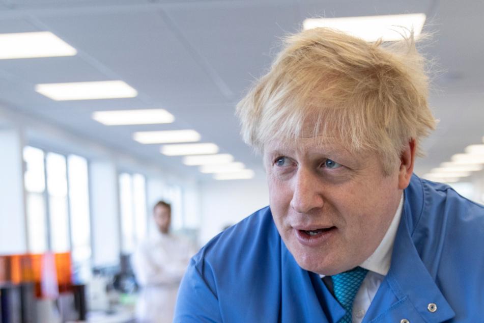 Der mächtigste Mann Großbritanniens, Boris Johnson (55).