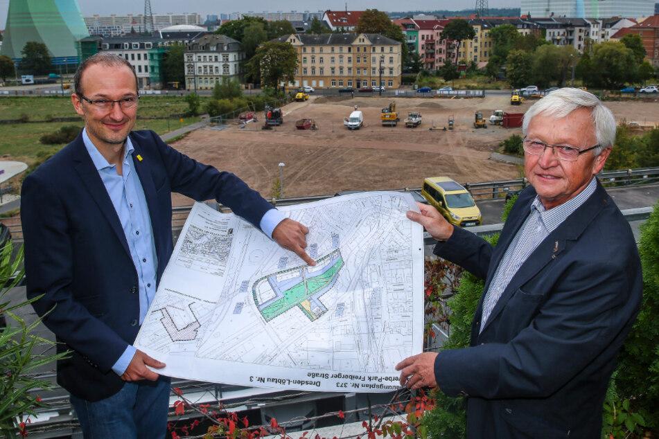 Weil kaum noch was frei ist: Stadt will in Dresden neue Gründerzentren schaffen