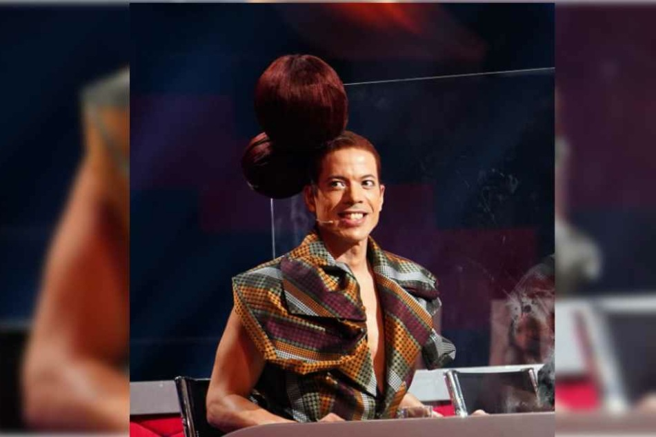 Mit zwei großen Kugeln in den Haaren sorgte Jorge Gonzalez bei Let's Dance für Aufsehen.