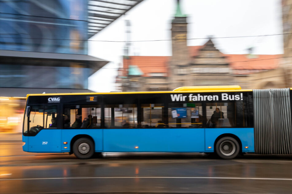 Laut der jüngsten Erhebung zur Stadtmobilität nutzen nur elf Prozent der Chemnitzer Bus und Bahn.
