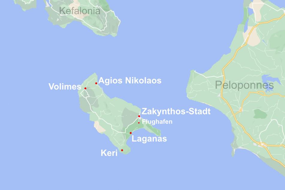 Das ist die Insel Zakynthos mit ihren schönsten Urlaubszielen.