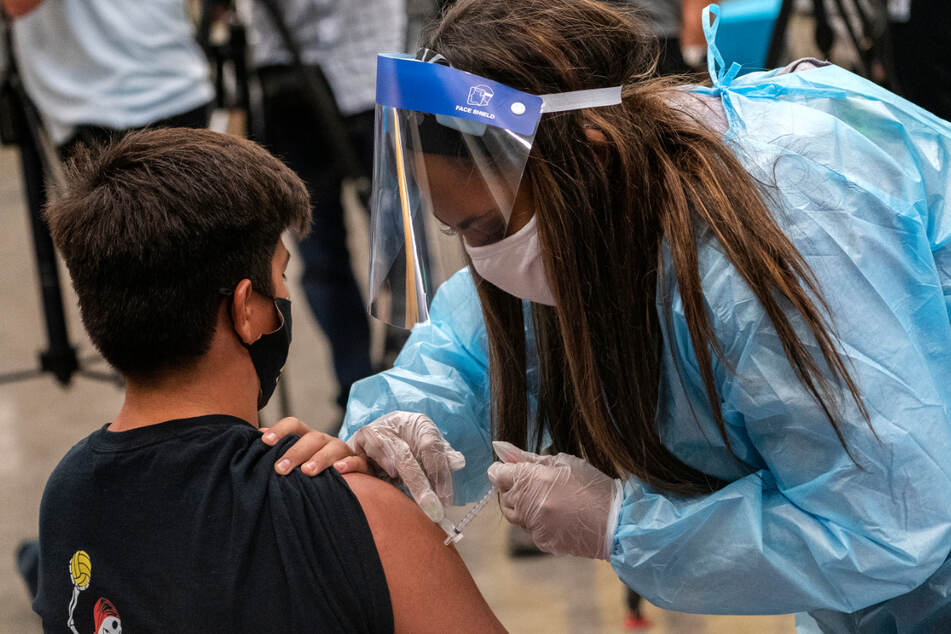 In den USA wurden bereits zahlreiche Kinder gegen das Coronavirus geimpft.