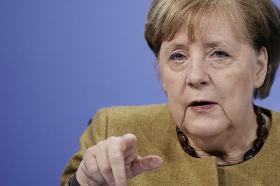 Coronavirus: Bundeskanzlerin Merkel will beim Impfen Gas geben