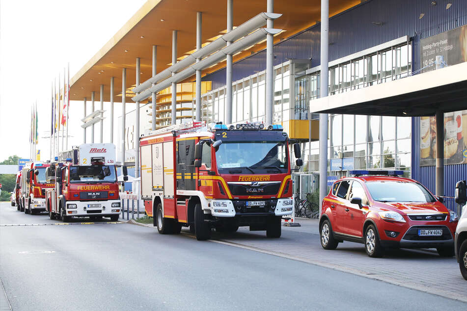 26 Feuerwehrkräfte rückten am Montagabend aus.