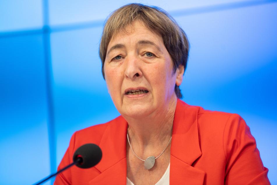 Die GEW-Vorsitzende Doro Moritz.