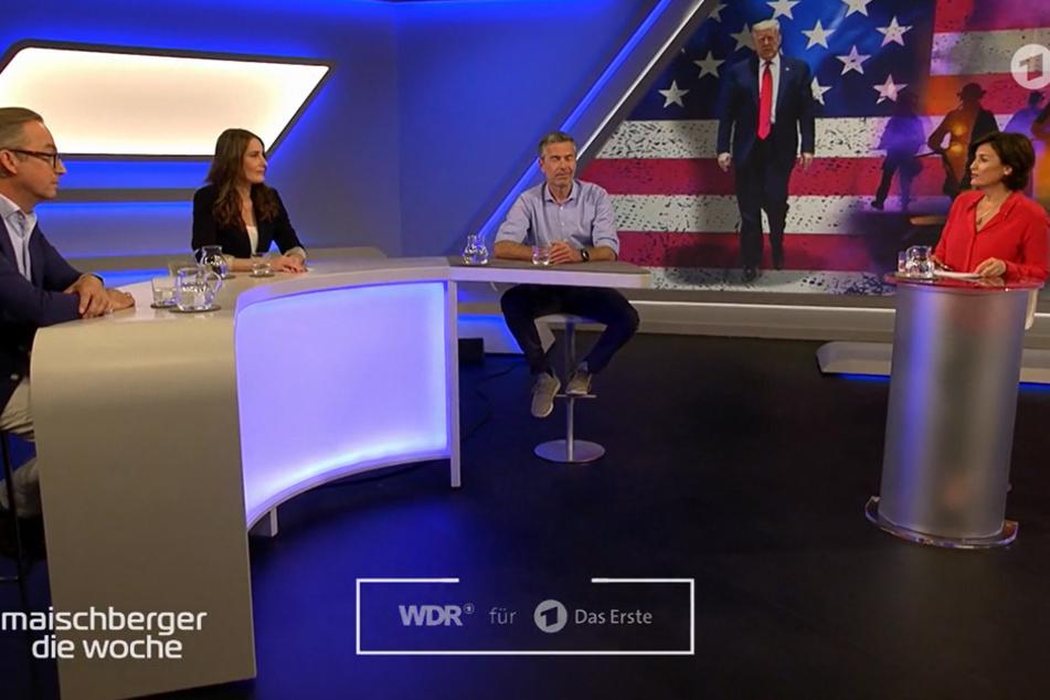 """Maischberger: Wirbel um """"Weiße"""" Gästeliste"""