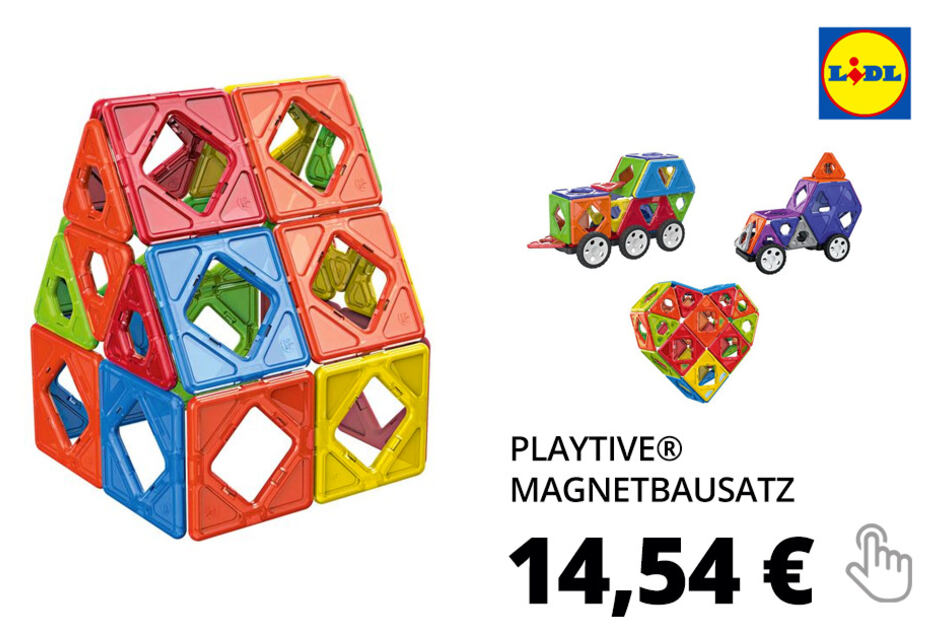 PLAYTIVE® Magnetbausatz