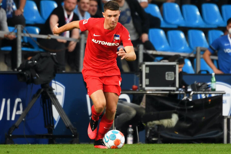Hertha-Nachwuchsspieler Linus Gechter feierte gegen den VfL Bochum mit 17 Jahren seine Bundesligapremiere.