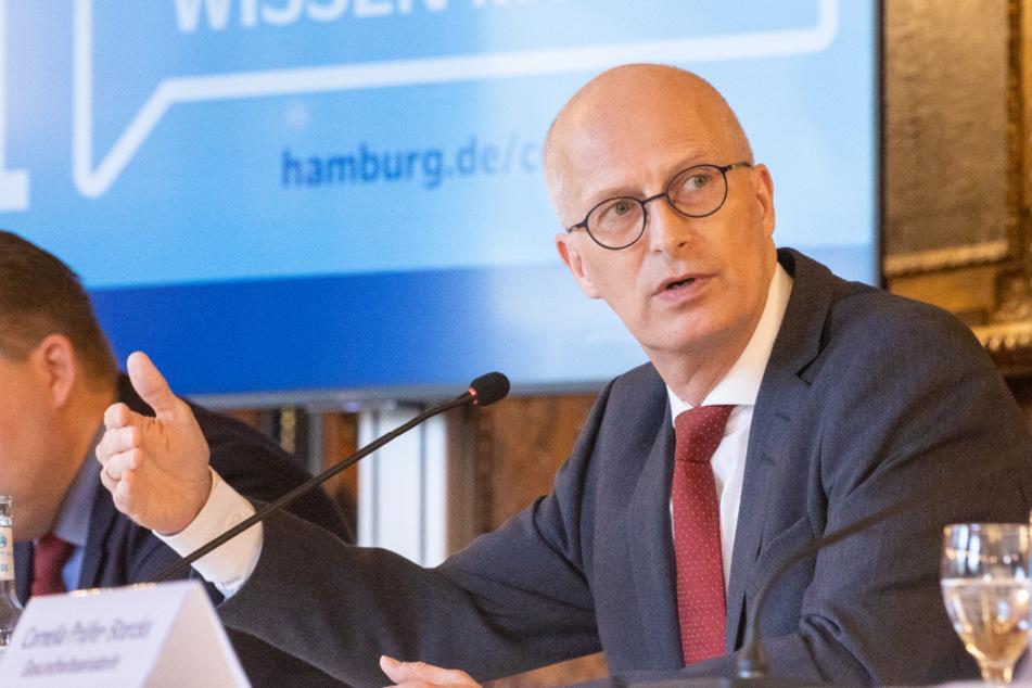 Corona-Demo auch in Hamburg denkbar? Das sagt Bürgermeister Tschentscher