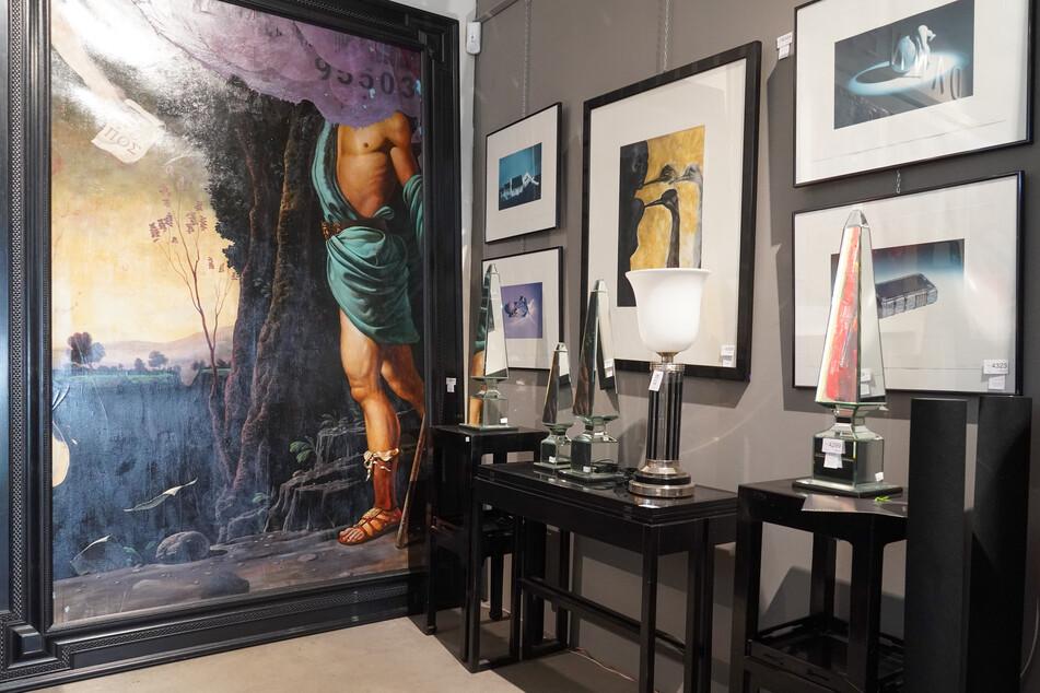 Am Samstagabend wurden Stücke aus seiner privaten Kunstsammlung versteigert.