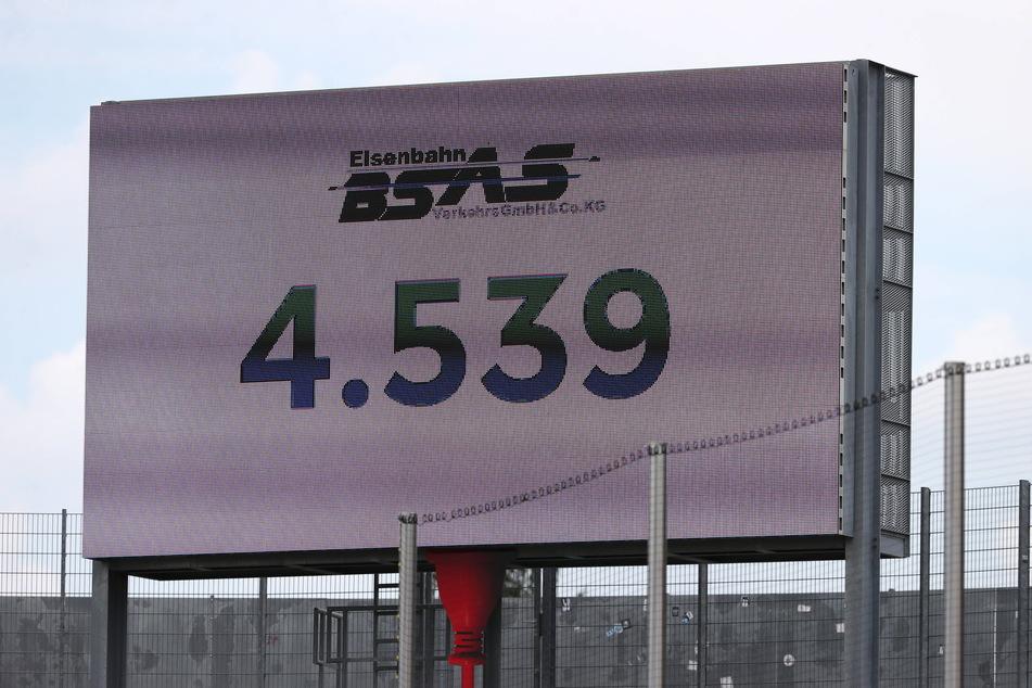 4539 Zuschauer waren beim ersten FSV-Heimspiel dabei - da ist noch Luft nach oben.